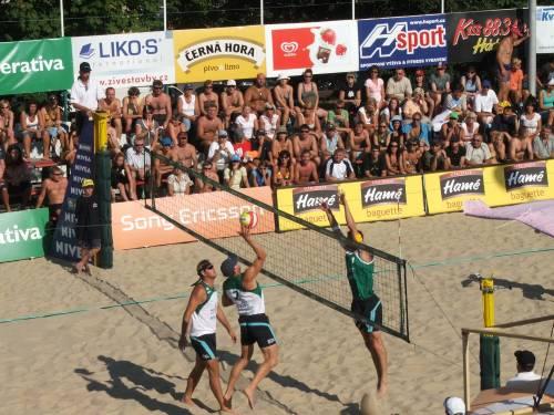 Mistrovství republiky mužů (4.-5.srpna 2007) - foto z finálového zápasu Kubala, Pavlas-Lébl, Bíza