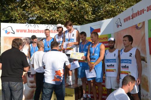 Mistrovství České republiky v beachvolejbalu 2013 - Předávání cen